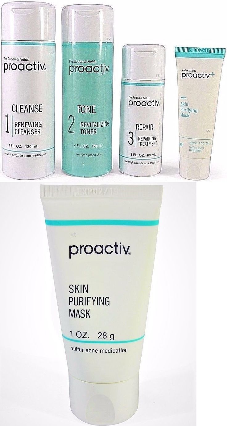 Acne and Blemish Treatments: Proactiv 4Pc 60 Day Kit 1 Oz Mask Proactive Cleanser Refining Lotion Us 2018 Exp -> BUY IT NOW ONLY: $35.93 on eBay!