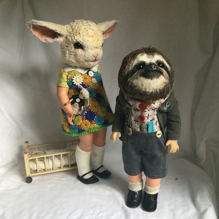 Lambgirl and Slothboy