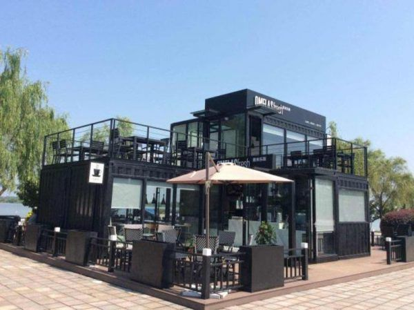 Shopping Container Business Café