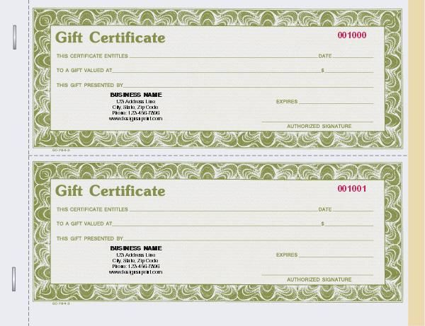 16 best Gift Certificates For Your Business images on Pinterest - fresh younique gift certificate template