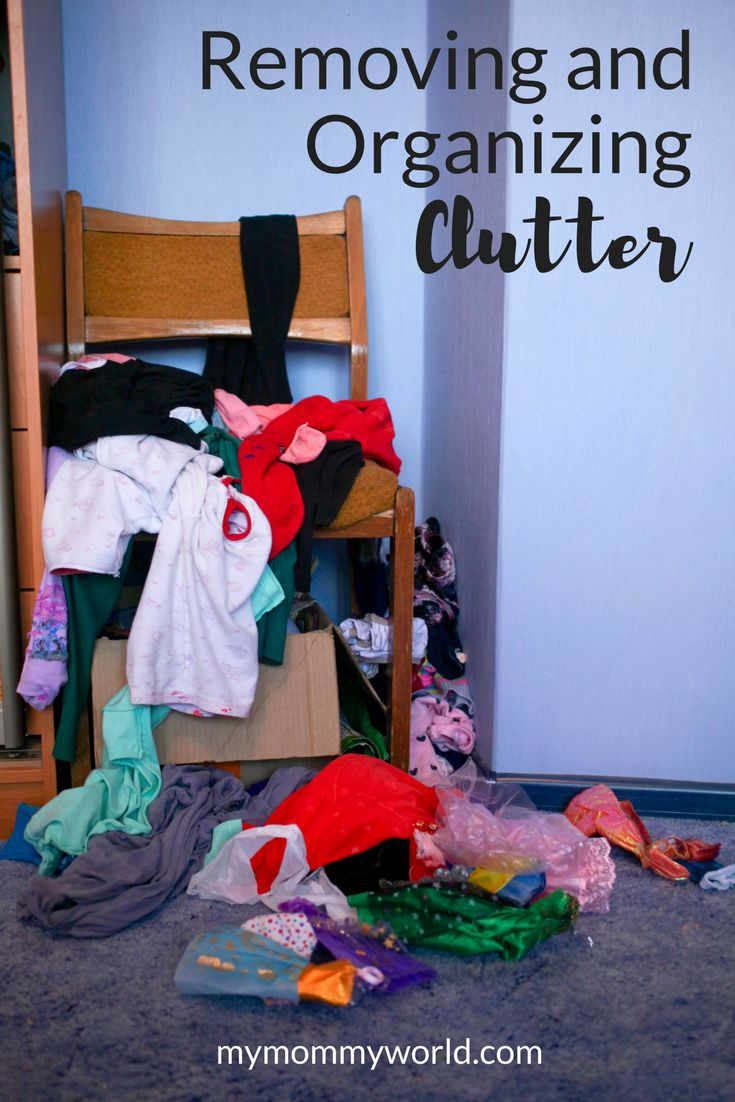 Removing And Organizing Clutter