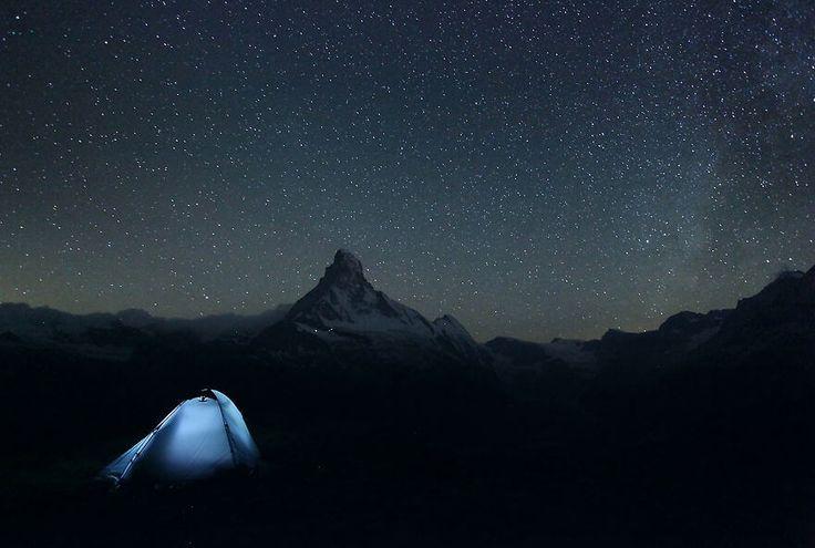 Matterhorn, Alpy, Szwajcaria #fotografia