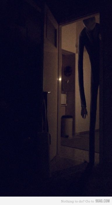 Of all the Urban Legends out there, I think Slender Man is probably the creepiest.