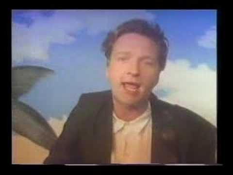 'Hourglass' by Squeeze.  music, video, 80s