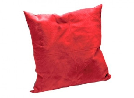 O'Hare & D'Jafer - Large Red Bovine Cushion #ChaletChic #Luxury #Homeware #LuxDeco