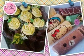 Food : Favourite Cake and Cupcake from Alalina Cakes only Rp 118.000 by. LaKupon.com