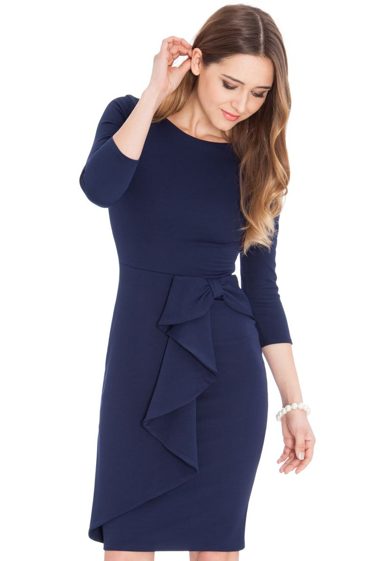 This Stylish WATERFALL PEPLUM QUARTER SLEEVE MIDI DRESS is now available in nine different colours Shop Now >> http://www.citygoddess.co.uk/women/New-In/Waterfall-Peplum-Quarter-Sleeve-Midi-Dress   #WholesaleClothing #CitygoddessWholesale #WholesaleDresses #WholesaleMidiDresses #WholesaleNewArrivals