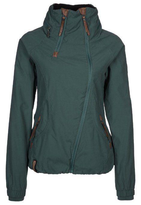 Amazon.com: Naketano Forrester II Dark Green Jacket Womens Jacke Winterjacke Girls Damen: Clothing