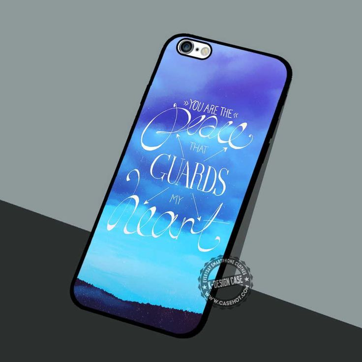 You Are The Peace - iPhone 7 6 5 SE Cases & Covers #quote #peace #iphonecase #phonecase #phonecover #iphone7case #iphone7 #iphone6case #iphone6 #iphone5 #iphone5case #iphone4 #iphone4case
