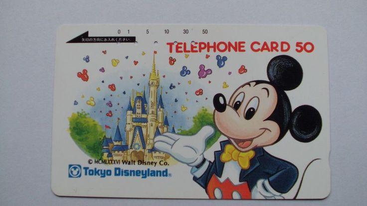 TK-JAPAN. DISNYLAND,TELEFONKARTE