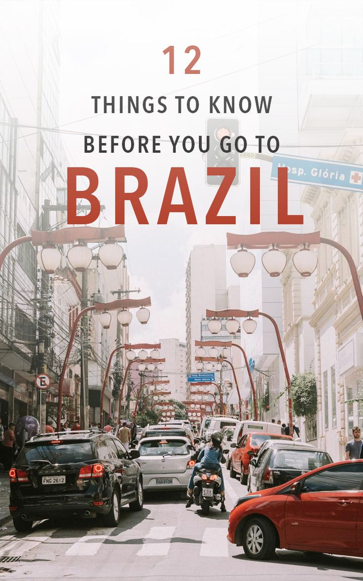 Brazil travel tips for your next trip. Things to know before you decide to travel to Brazil!