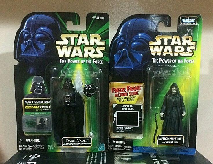 Star Wars Action Figure 2 pack (POTF) - Darth Vader & Emperor Palpatine #Hasbro