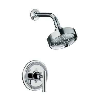 KOHLER - Taboret Rite-Temp Pressure-Balancing Shower Faucet Trim, Valve Not Included In Polished Chrome - K-T8226-4-CP - Home Depot Canada. $307.48. Option for master bathroom.