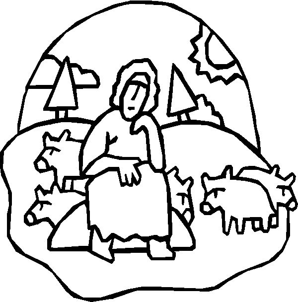prodigal son coloring book pages