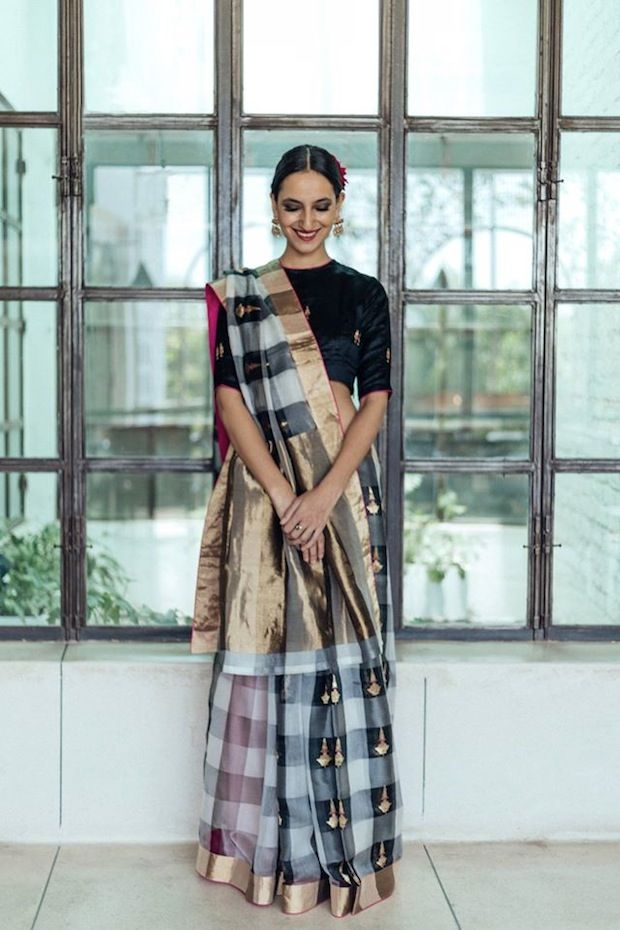 Raw Mango saree