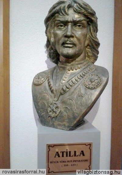 Atilla szobor isztambuli Katonai Muzeum