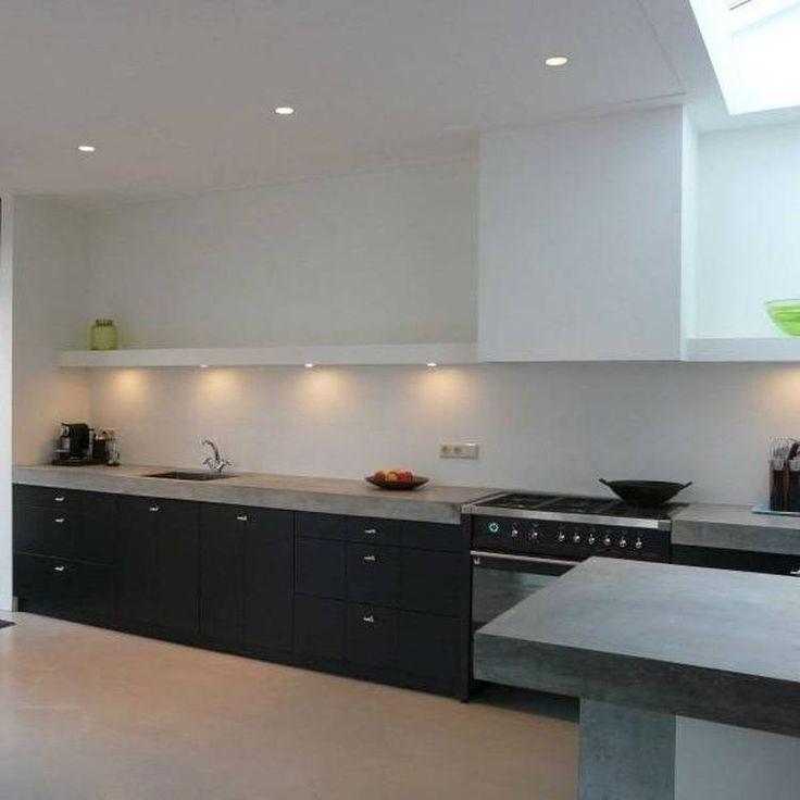 31 best Zwarte keukens voorbeelden images on Pinterest - schüller küchen erfahrungen