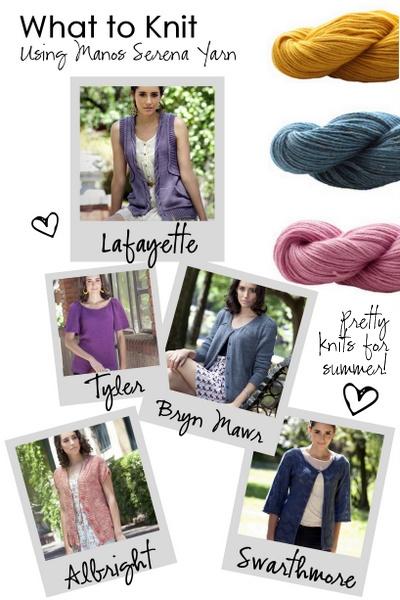 5 Fabulous Summer Sweater Knitting Patterns!