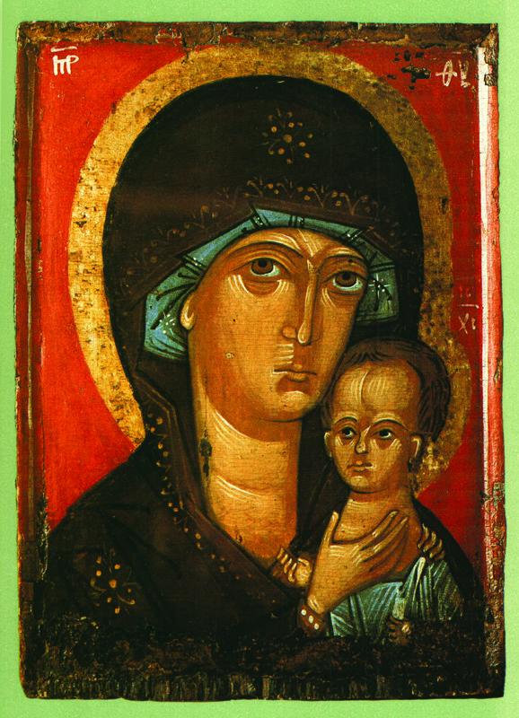 XIV в.  Богоматерь  Петровская
