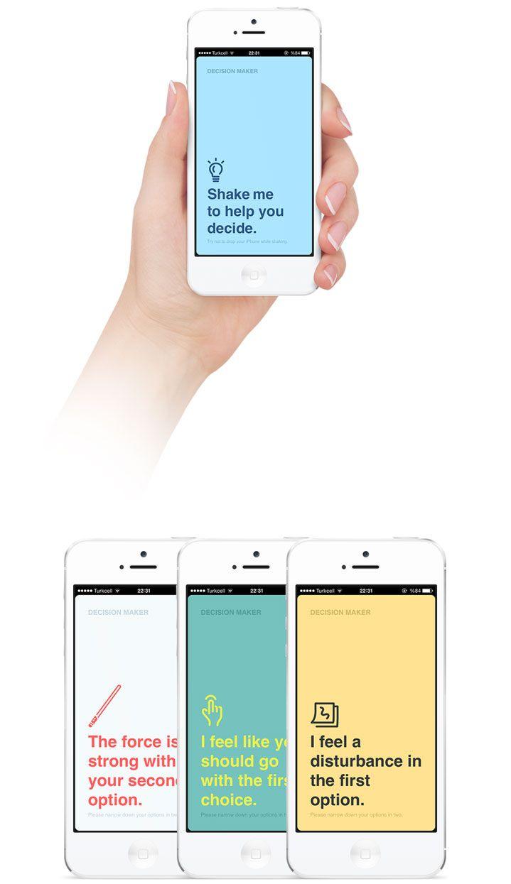 Decision Maker Web App
