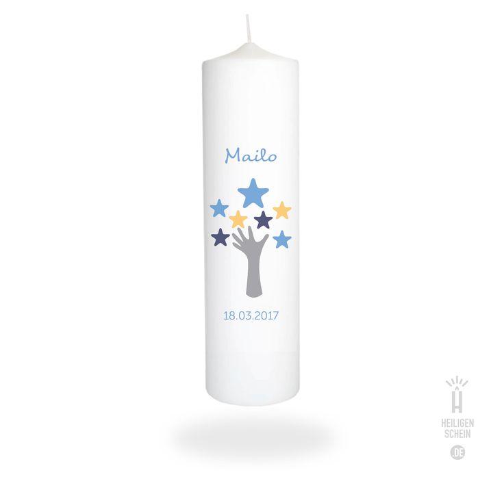 Taufkerze Mailo • Lebensbaum