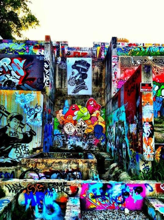 Hope Outdoor Gallery. Austin, Texas