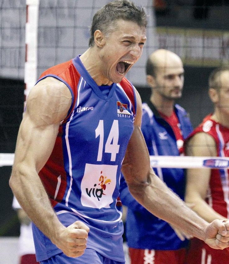 Ivan Miljković of Serbia Volleyball Team #volleyball #sportspeople