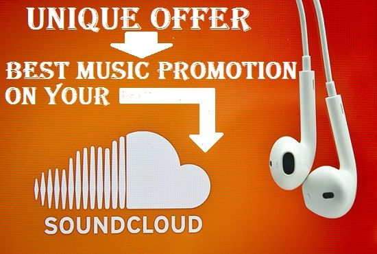 Promote your track with 7000 play with 100 follower