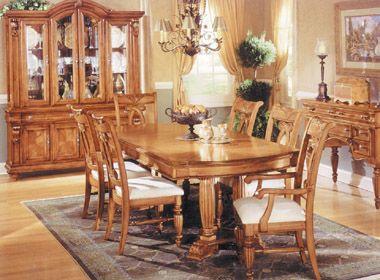 Muebles De Comedor Clasicos | El Estilo Clasico De Madera De Comedor Sala De Juego Tradicional