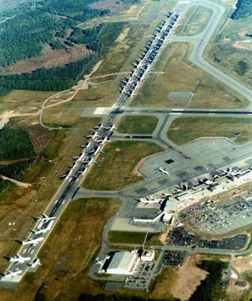 Gander Intl. During 9/11 Accepting all diverting aircraft.