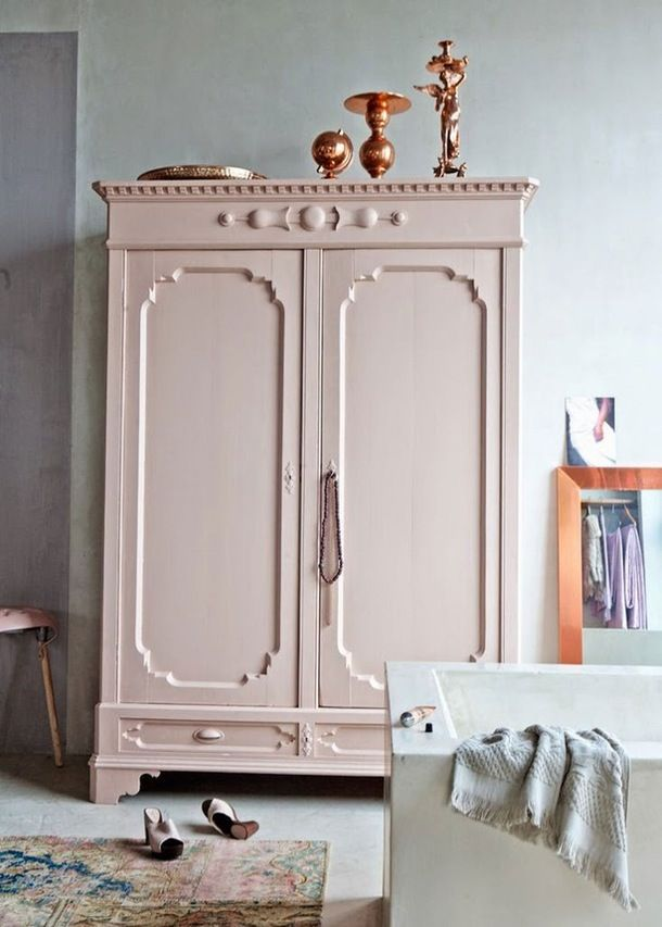 Best Interior Design Color Combos: Copper & Pink | Apartment Therapy