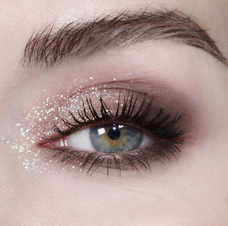 Sparkle beats dark pigment! Love the soft neutral brown.