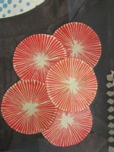 Louise Bourgeois - Fabric Drawings, detail