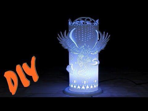 Luminária de Pvc passo a passo - Programa Arte Brasil - YouTube