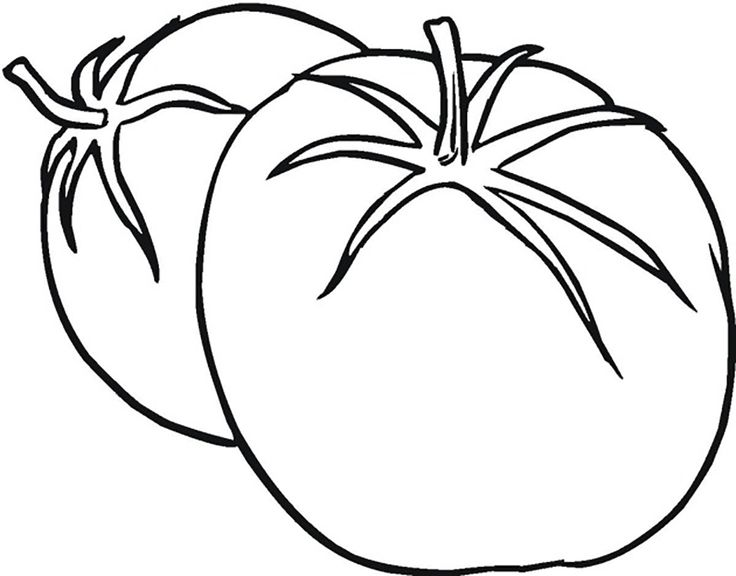29 best images about vegetable coloring pages on Pinterest ...