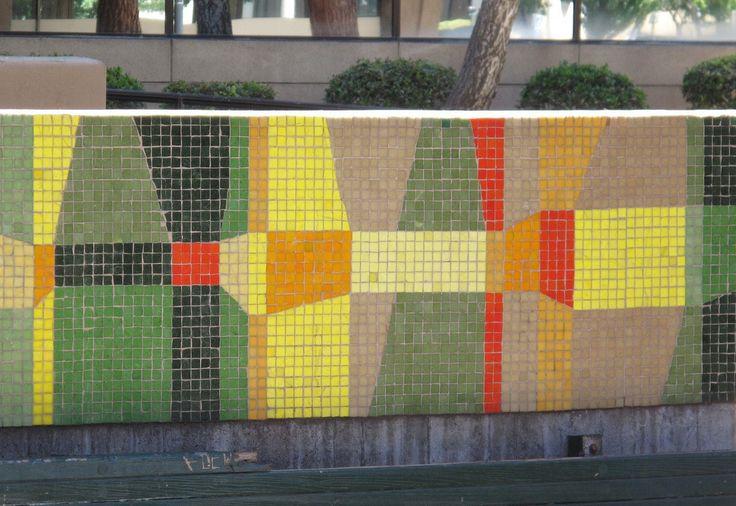 https://flic.kr/p/a7Wyh9 | Fulton Mall Bench Mosaic | Artists: Joyce Aiken and Jean Ray Laury