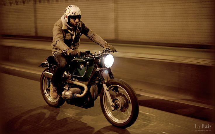 porelpiano: BMW Scrambler + LA RAIZ MOTORCYCLES