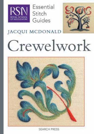 Crewelwork Essential Stitch Guide Essential Stitch Guides: Amazon.co.uk: Jacqui McDonald: Books