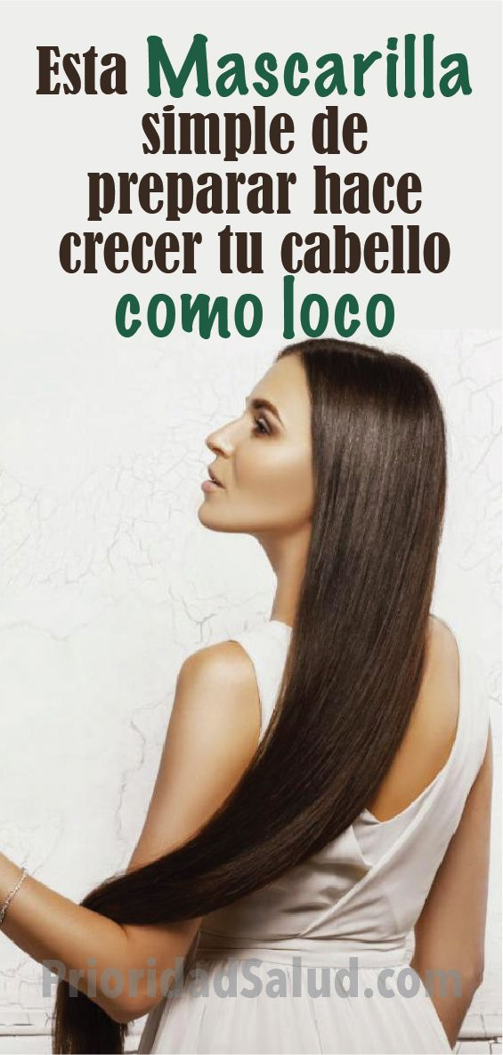Esta Mascarilla Te Hara Crecer El Cabello Como Loco Crecimiento Del Pelo Evitar Caida Del Cabello Psalud Pelo Cabello M Facial Hair Beauty Hair And Nails
