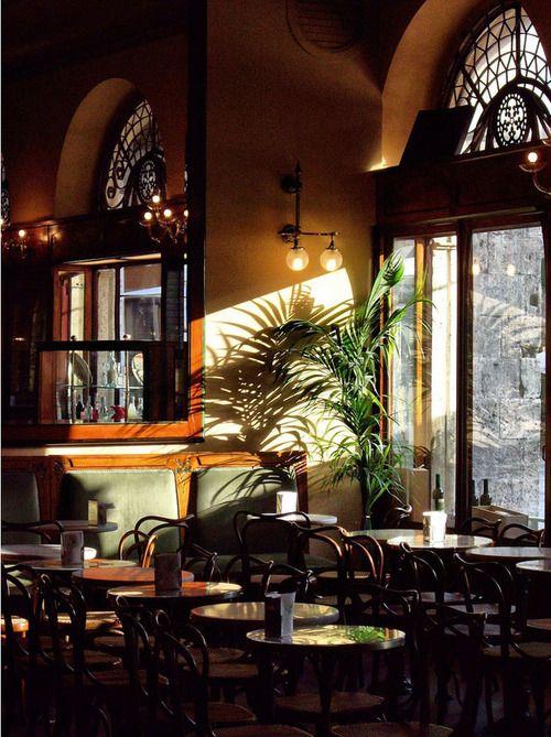 Art Nouveau Caffè Meletti, Ascoli Piceno, Marche, Italy.