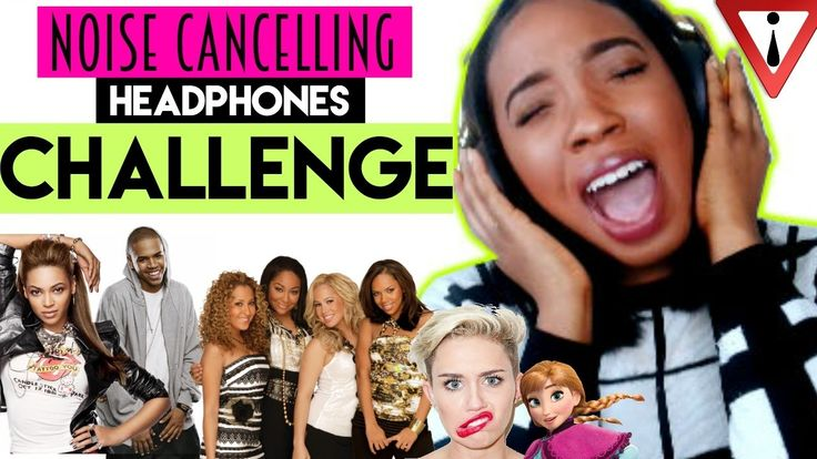 SINGING while wearing NOISE CANCELLING HEADPHONES!