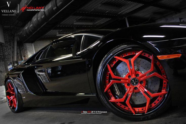 llantas nuevas para el Lamborghini Aventador