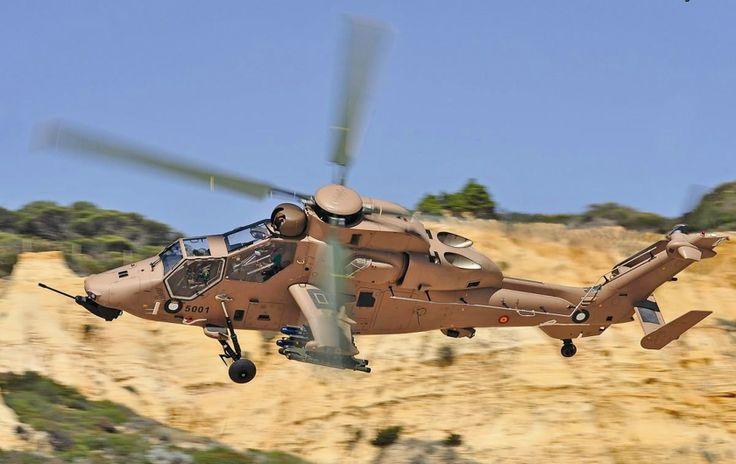 Eurocopter's New EC-665 Tiger HAD Combat Helicopters                                                                                                                                                      Más