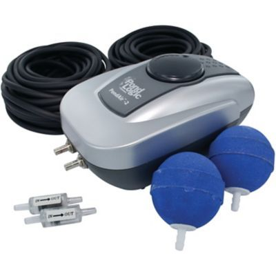 Airmax PondAir 2 Aeration Kit -- keep your stock tank pool clean, up to 1000 gallons (10 foot stock tank)