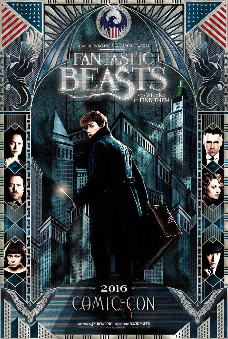 A new poster for the 'Harry Potter' spinoff gives
