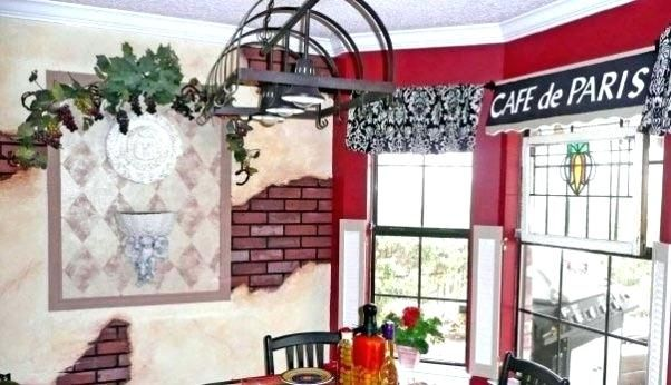 French Cafe Kitchen Decor French Bistro Kitchen Theme Funky Cafe Theme This Is What Happens When An Artist Has To Bistro Decor Kitchen Themes French Cafe Decor
