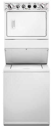 Whirlpool 27 in. Stacked Washer with Gas Dryer at Menards