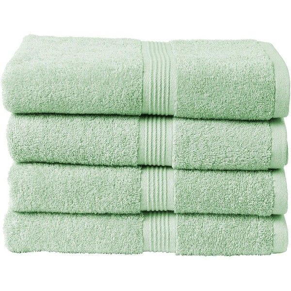 Christy Verona Plain Dye Towel Range ($16) ❤ liked on Polyvore featuring home, bed & bath, bath, bath towels, fillers and christy bath towels