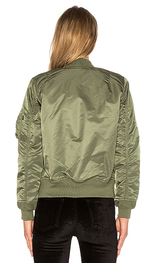 Shop for ALPHA INDUSTRIES MA-1 W Bomber in Sage at REVOLVE. Free 2-3 day shipping and returns, 30 day price match guarantee.