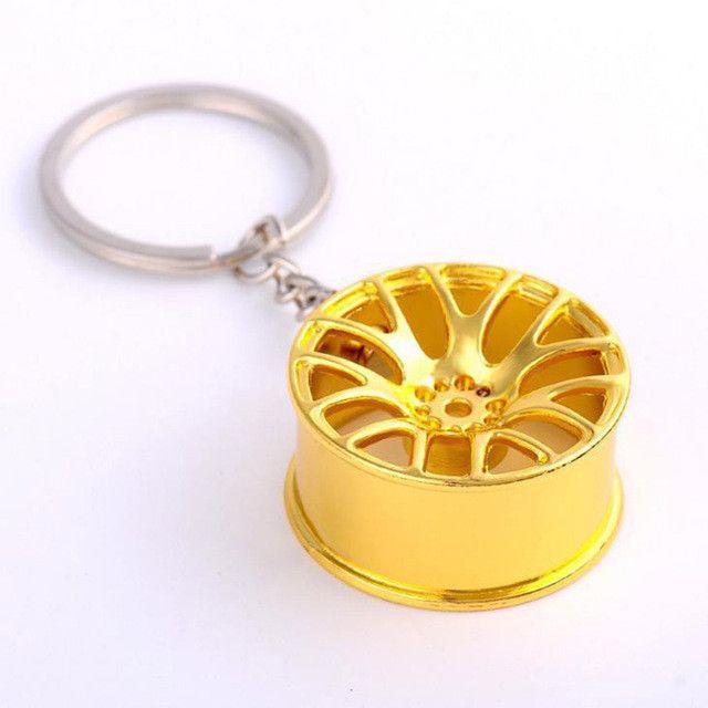 Wheel Keychain Auto Wheel Hub Keychain